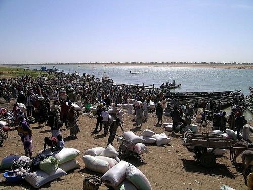 Une grande pluie accompagnée de vent violent a secoué les habitants de Macina au Mali
