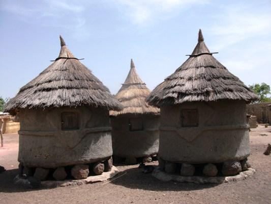De joli grenier dans une famille malienne