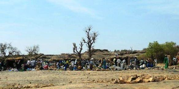 Jour de marché chez les dogons au Mali